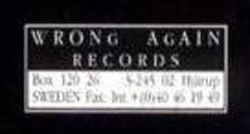 Wrong Again Records