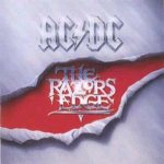 AC/DC - The Razor's Edge cover art