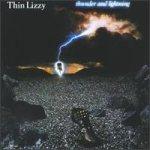 Thin Lizzy - Thunder and Lightning cover art