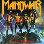 Manowar - Fighting the World cover art