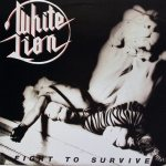 White Lion - Fight to Survive cover art
