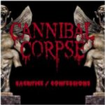 Cannibal Corpse - Sacrifice / Confessions cover art
