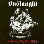Onslaught - Power from Hell cover art