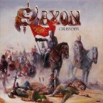 Saxon - Crusader cover art