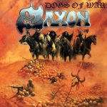 Saxon - Dogs of War cover art