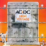 AC/DC - High Voltage cover art