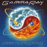Gamma Ray - Insanity and Genius cover art