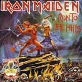 Iron Maiden - Run to the Hills - The Number of the Beast cover art