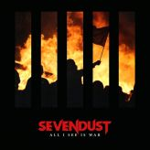 Sevendust - All I See Is War cover art
